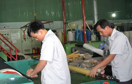 Công ty sản xuất vải không dệt